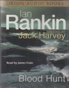 Blood-Hunt-Ian-Rankin-Jack-Harvey-4-Cassette-Audio-Book-NEW-Abridged-Rebus