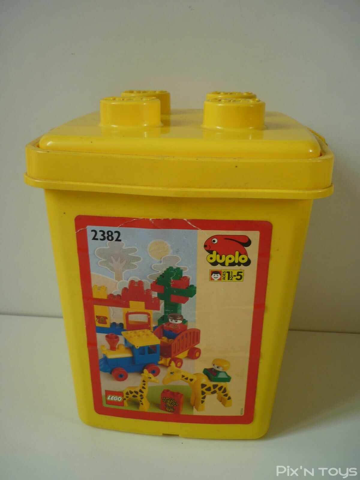 Lego Duplo 2382-1 Lego Train Bucket