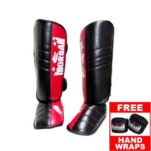 guards muy thai kickboxing MMA MORGAN V2 PROFESSIONAL SPARRING SHIN PADS