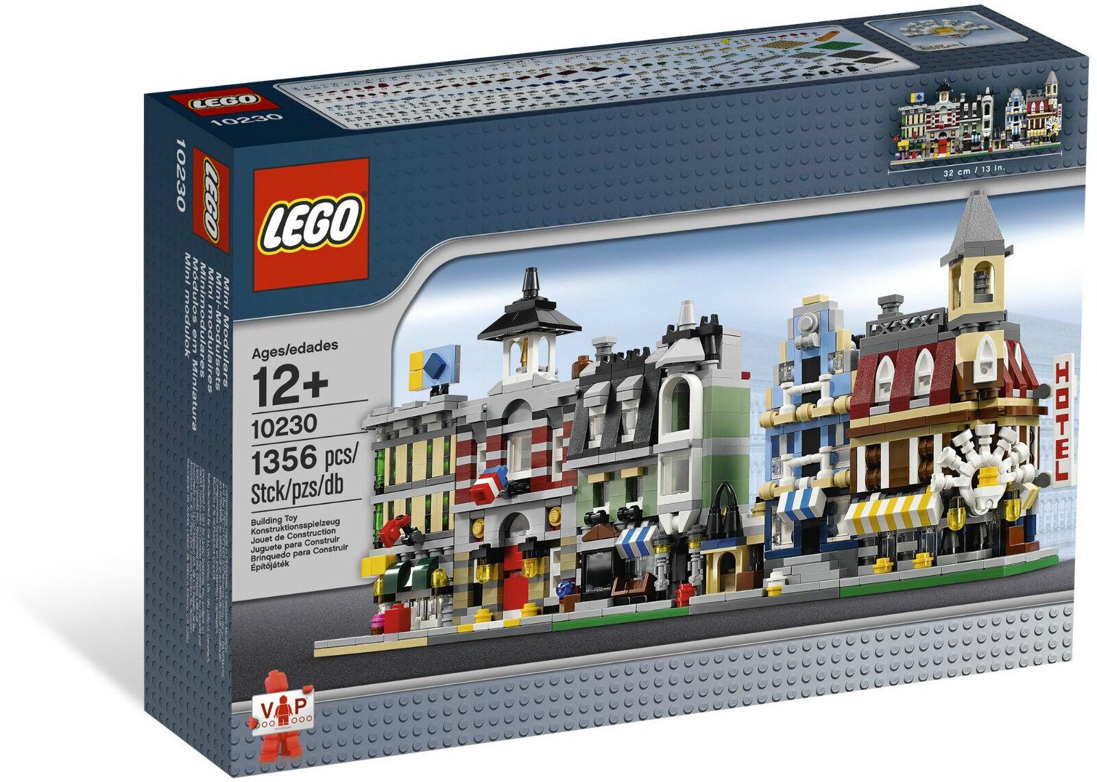 BRe nuovo Lego 10230 MINI  MODULARS  autorizzazione