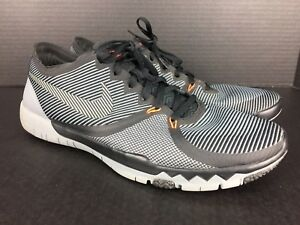 f99b93a5514 RARE Nike Free Trainer 3.0 V4 749361-001 MEN S SIZE 13 US Black Grey ...