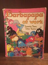 Barbapapa at Work by Annette Tison Talus Taylor Scholastic 1979 English Text PB