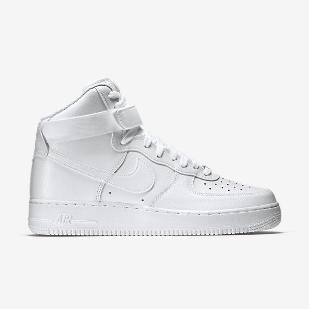 NIKE FORCE 1 ONE alta'07 AIR 2018 blanco sobre sobre blanco blanco 315121 115 Zapatos para hombre ddb8c7