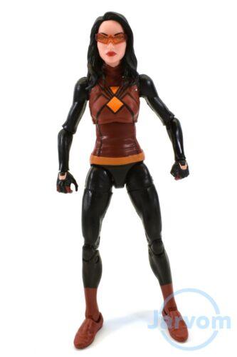 Marvel Legends 6 Inch Lizard BAF Wave Spider-Woman Loose Complete