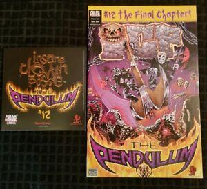 Insane-Clown-Posse-The-Pendulum-12-Comic-Book-amp-CD-set-twiztid-dark-lotus-icp