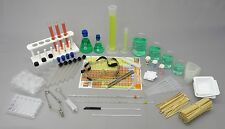 63 Piece Combined Chemistry Glassware & Equipment Kit - Laboratory Science Set