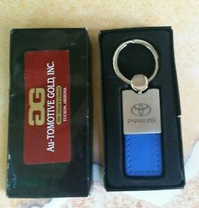 Toyota Sienna Blue Leather Key Ring