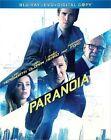 Paranoia 0024543861935 With Liam Hemsworth Blu-ray Region a