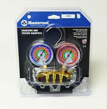 59236 Mastercool Ac Hvac Refrigeration Manifold W 36 Ball Charging Hoses
