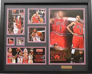New Derrick Rose Signed Chicago Bulls Limited Edition Memorabilia