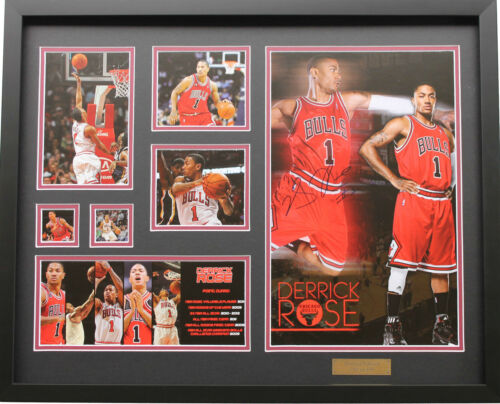 New Derrick Rose Signed Chicago Bulls Limited Edition Memorabilia