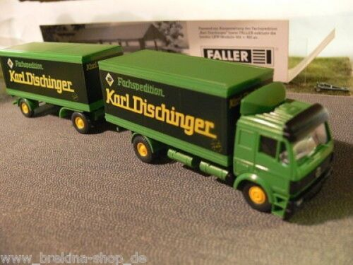 1//87 Wiking hergestellt für Faller 985 MB SK HZ Fachspedition Karl Dischinger