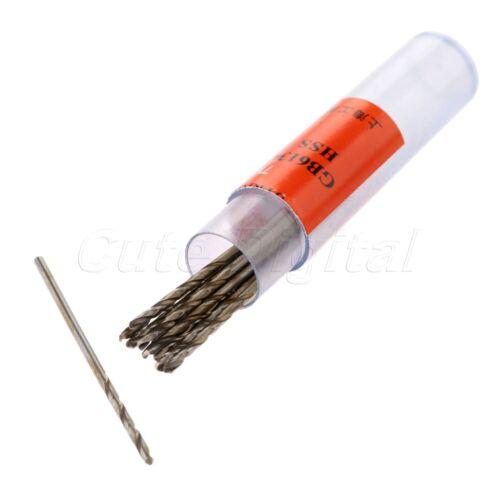 0.5-3.5mm Micro HSS Twist Drill Bits Straight Shank électrique forage outil C8D