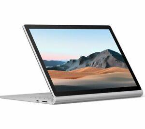 "MICROSOFT 15"" Surface Book 3 – Intel Core i7 256 GB SSD Platinum - Currys"