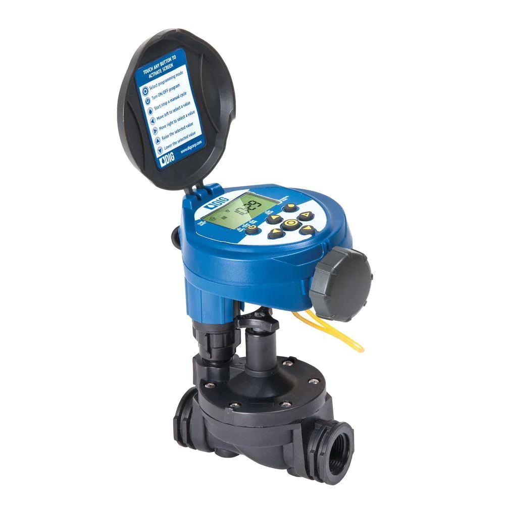 Water Hose End Timer In-line Valve Waterproof Sprinkler Watering Irrigation