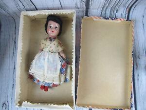 Mexican-Baby-Doll-El-Pais-De-Las-Hadas-Muneca-Vintage-1940s-w-Box-Rare