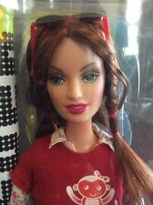 2004 Mattel Barbie FASHION FEVER DREW NRFB Pop Red Hair Freckles