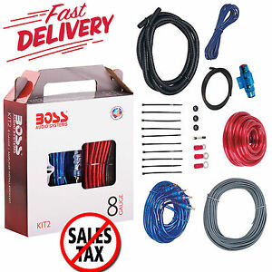 Awesome 8 Gauge Amplifier Installation Kit Power Wiring Cable Sub Speaker Wiring Digital Resources Sulfshebarightsorg