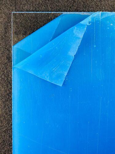 """New Acrylic Plexiglass Plastic Sheet Clear .220 .25  1//4/"""" x 12/"""" x 12/"""""""