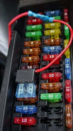 CAR BLADE Mini Fuse Box KIT 5 10 15 20 25 30 AMP CITROËN Berlingo//Van 99