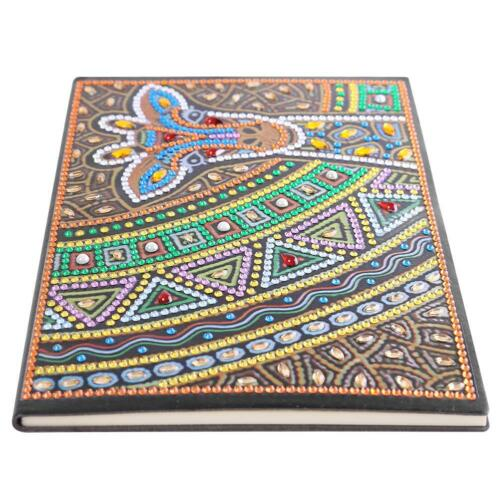 DIY Madala Special Shaped Diamond Painting 50 Pages A5 Notebook Art Diary Books