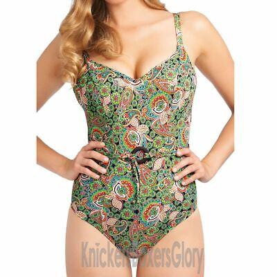 Freya Swimwear Woodstock Sweeheart Padded Bikini Top Willow Green 3379