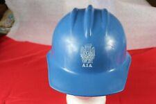 Vintage Aia Bullard Hard Boiled Blue Safety Hard Hat Amp Suspension 303 Amp 302