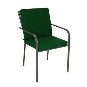 Details Zu Stuhlauflage Stuhl Sitzkissen Polster Sesselauflage Denver Niedriglehner Grün