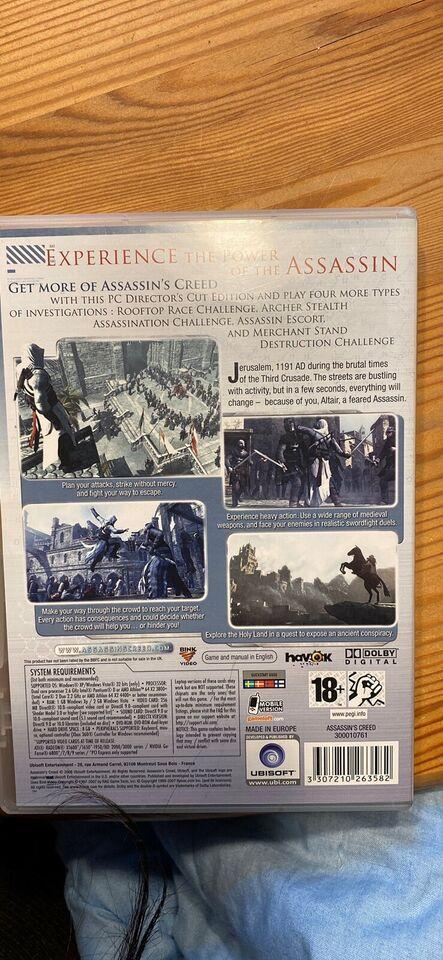Assasins Creed, til pc, strategi