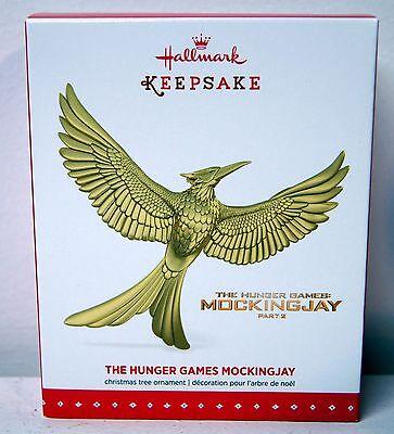 Hallmark 2015 The Hunger Games Mockingjay Ornament - New in Box METAL