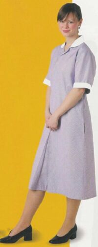 NEW in Bag Unissued British Nurse Housekeeping Maid Uniform Dress Size XL-2XL