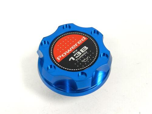 BLUE BILLET RACING ENGINE OIL FILLER CAP MAZDA RX7 RX8 13B TURBO