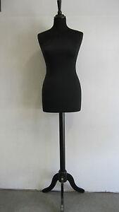 Busto-Donna-Sartoriale-base-treppiede-legno-Manichino-per-sartoria-Manichini