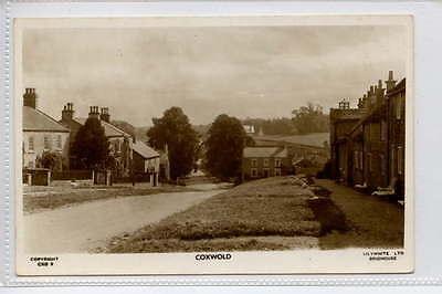 (gb433-370) Real Photo Of Coxwold, Thirsk C1940 Unused Vg-ex