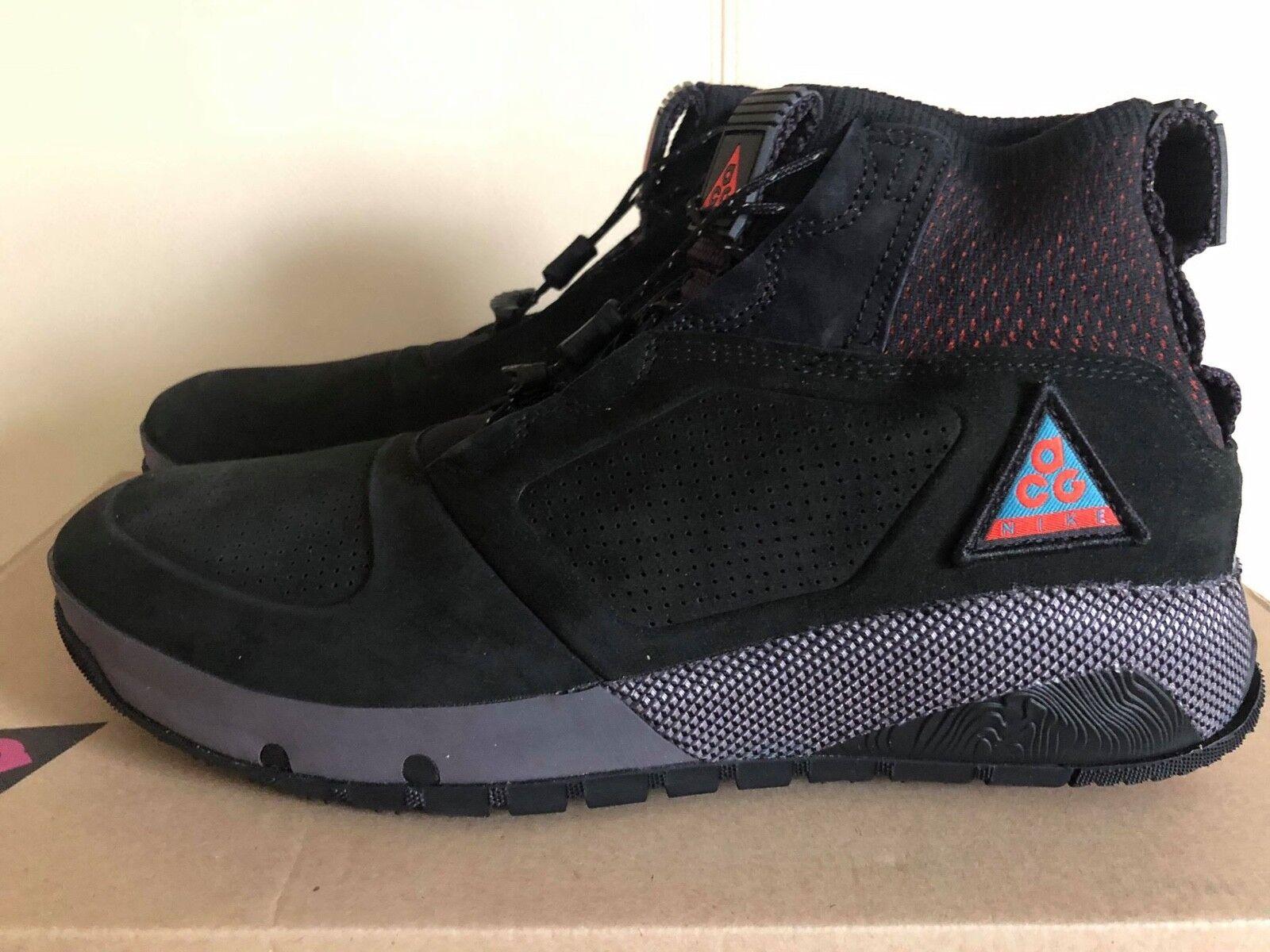 Nike ACG Ruckel Ridge Black Geode Teal Sneaker Boot AQ9333-002 Outdoor Uni shoes