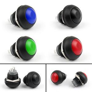Mini-12mm-Einbauschalter-Schalter-Taster-ON-OFF-Druckschalter-Fuer-Autos-Boot-DIY