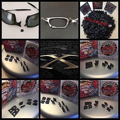 10 pair of flex  Couplers Oakley X Metal Juliet XX X-Squared Mars Penny Romeo 2