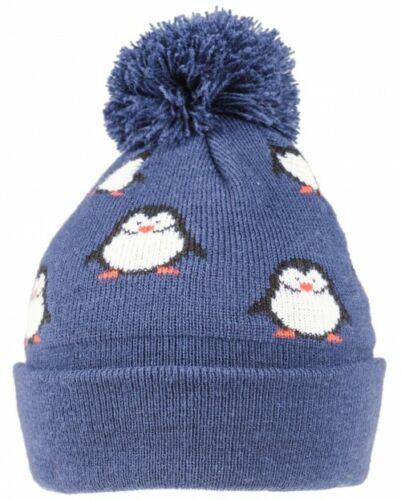 SSP Hats Kids Penguin Beanie Bobble Hat