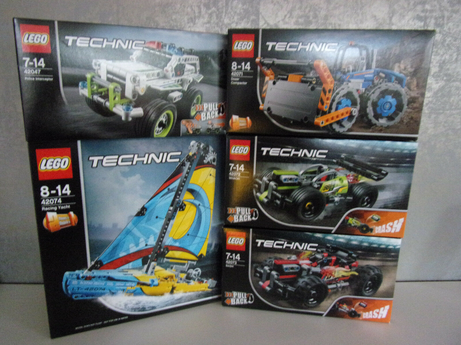 Lego Technic Different Set's for Selection - Nip