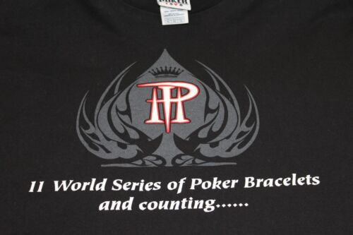 WSP Phil Helmuth World Series of Poker XL black shirt