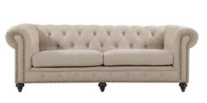 Quebec-Beige-Poly-Linen-Chesterfield-3-Seater-Sofa-BRAND-NEW