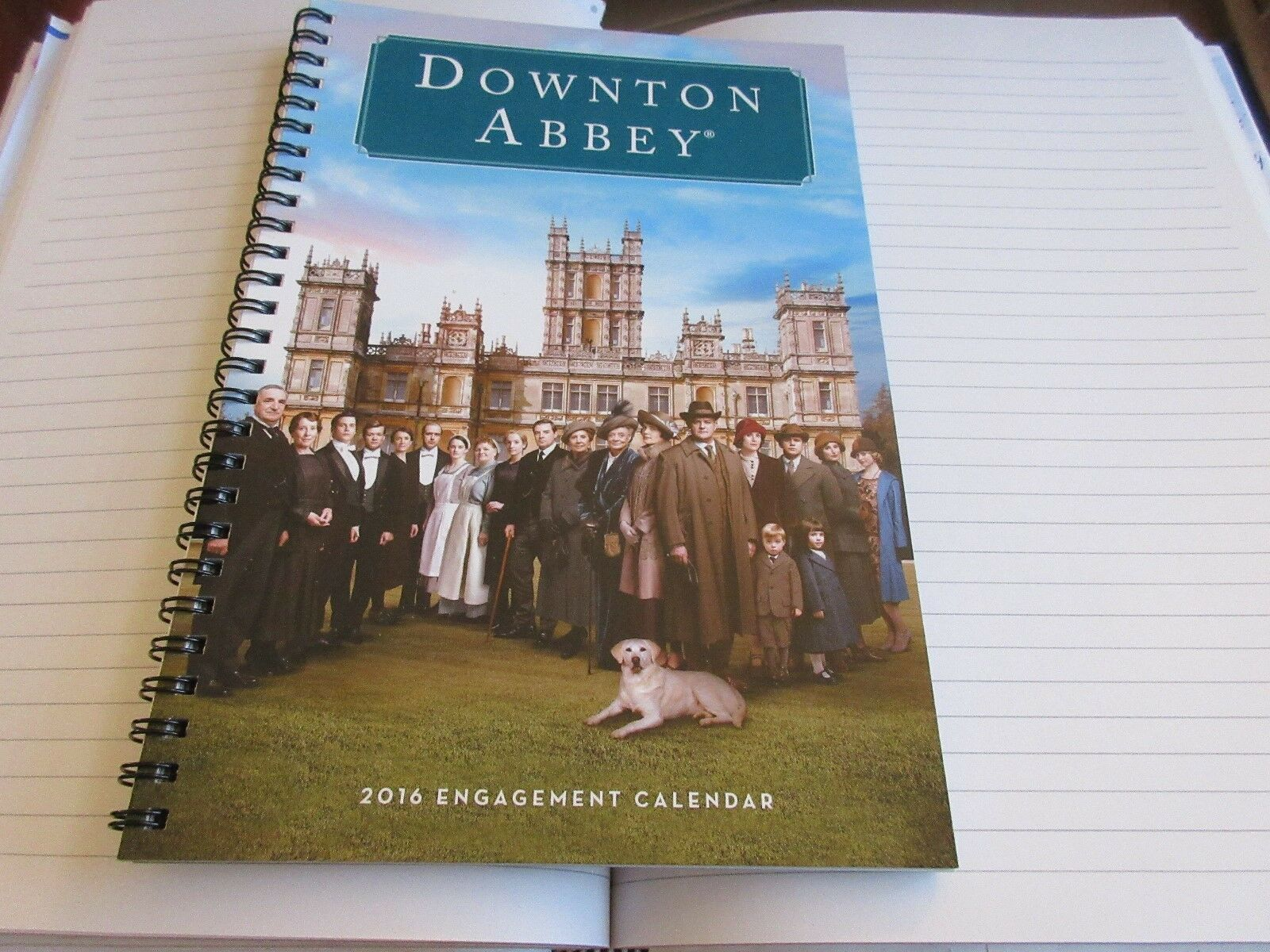 Downton Abbey , 2016 , Planner , Softcover , Engagement