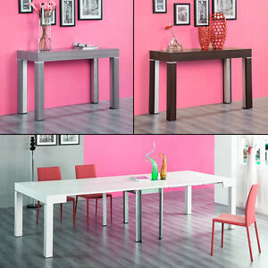 Table Salle A Manger Console Extensible 3 Metres Stacy Neuf Ebay