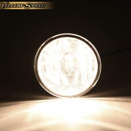 New Clear lens For Ford 2011 2012 2013 2014 F150 Fog Lamp Light LH /& RH W//bulb