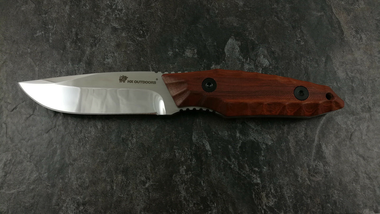 HX OUTDOORS D 145 Survival Bushcraft Outdoor Messer Messer Messer Holz Echt Leder Jagdmesser    Hervorragende Eigenschaften  fe1853