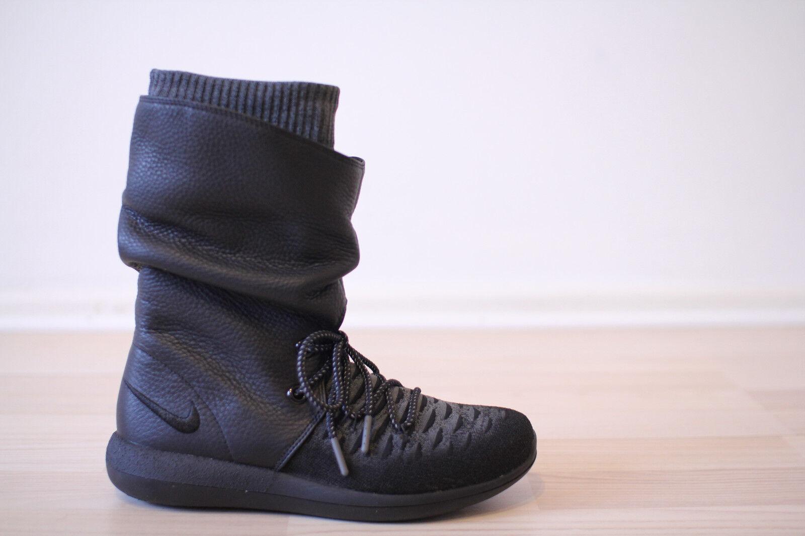 Nike Roshe Two Hi Hi Hi Flyknit black WMNS Gr. 37,38,39,40 NEU & OVP Winterstiefel dbd5b4