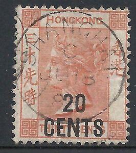 Hong Kong 1885 SG 40 SHANGHAI VF