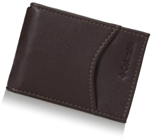 Columbia  Men/'s  Rfid Security Blocking Slim Front Pocket Wallet