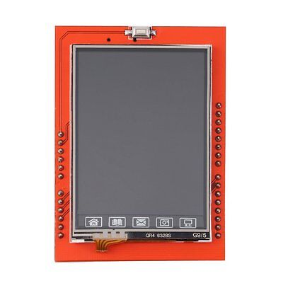 "2.4"" TFT LCD Shield Socket Touch Panel Module for Arduino UNO R3 New AX"