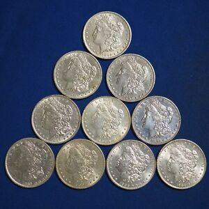 Pre-1921-Morgan-Silver-Dollars-XF-AU-Random-Date-1-Coin-90-1-1878-1904